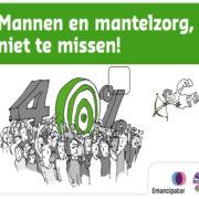 """</p> <p style=""""text-align: center;"""">Mannen en Mantelzorg</p> <p>"""